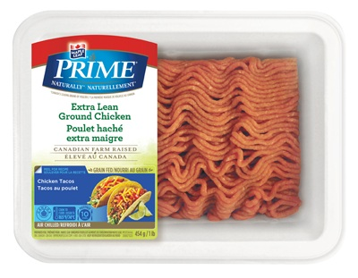Maple Leaf Prime Naturally® Extra Lean Ground Chicken