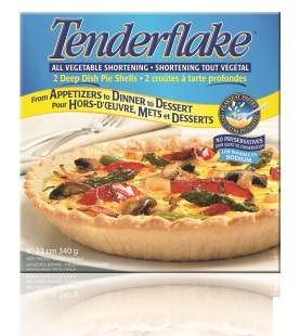 "All Vegetable Shortening Deep Dish 9"" Pie Shells , 2 Pack"