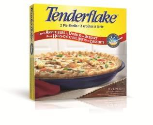 "Regular Pie Shells Lard 9"" shell, 2 Pack"