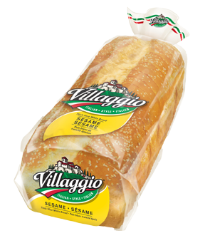 Villaggio® Sesame Thick Sliced Italian Style White Bread