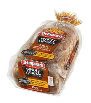 Dempster's® WholeGrains 100% Whole Wheat Bread