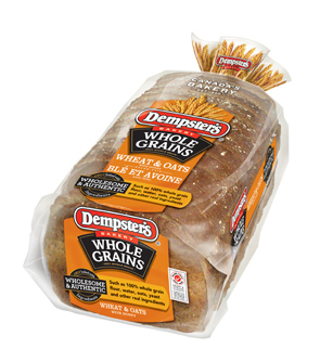 Dempster's® WholeGrains Wheat & Oats with honey